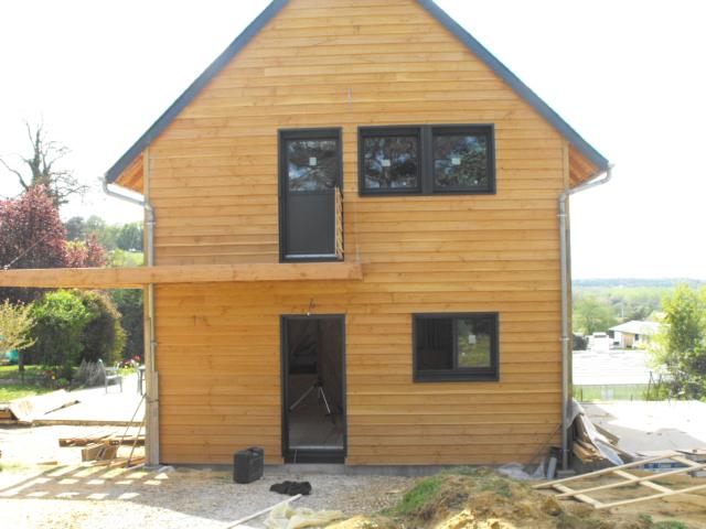 Les eco logis bois sarthe lombron construction - Agrandissement pavillon ...